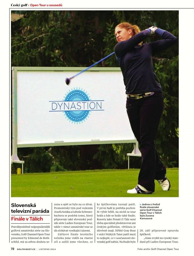 Golf Channel Open Tour 2014